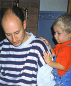 Dr. McKenzie and His Son Andrew 1993
