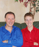 Dr. McKenzie and His Son Andrew 2007