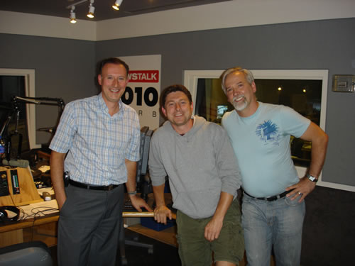 Dr. McKenzie appears as a guest on CFRB 1010